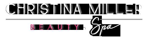 christina miller beauty and spa logo